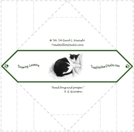 Origami Cat Instructions Printable Becoming An Artist Origami