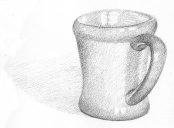 draw your coffee mug step six