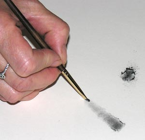 how to make graphite powder for drawing